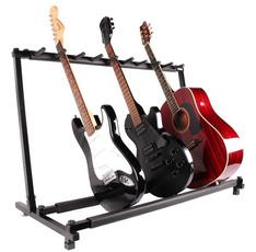Bass, displayshelf, Rack, Guitars