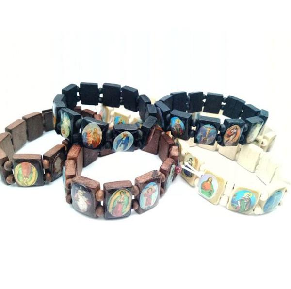 necklaces for men, Christian, catholicbracelet, Icon