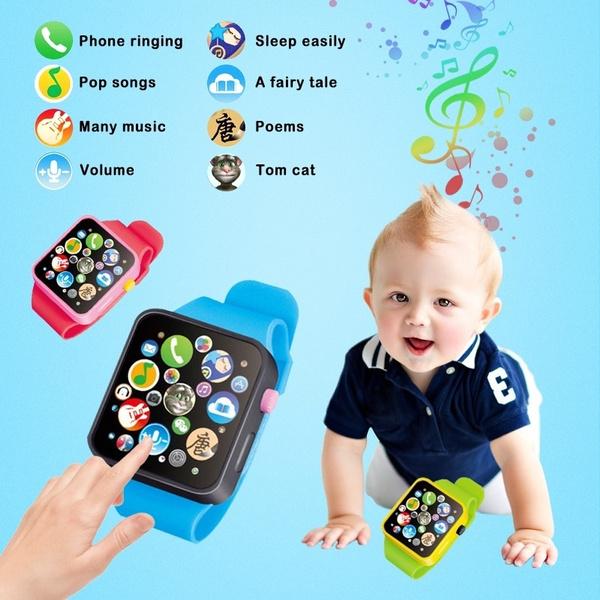 kidswatch, Touch Screen, niño, Watch
