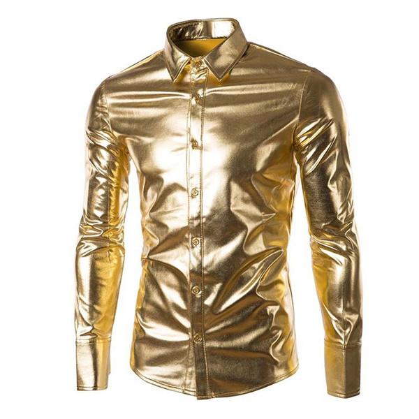 blouse, party, mensshinyshirt, Fashion