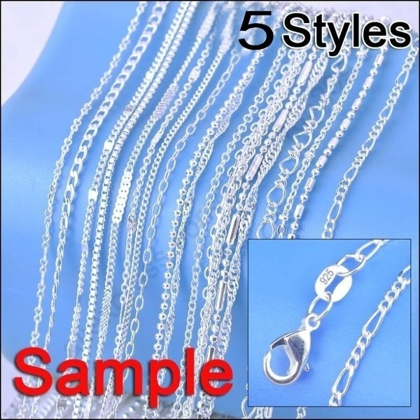 Sterling, Fashion, chainsnecklace, Jewelry