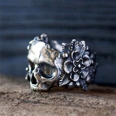 Steel, ringsformen, Goth, Flowers