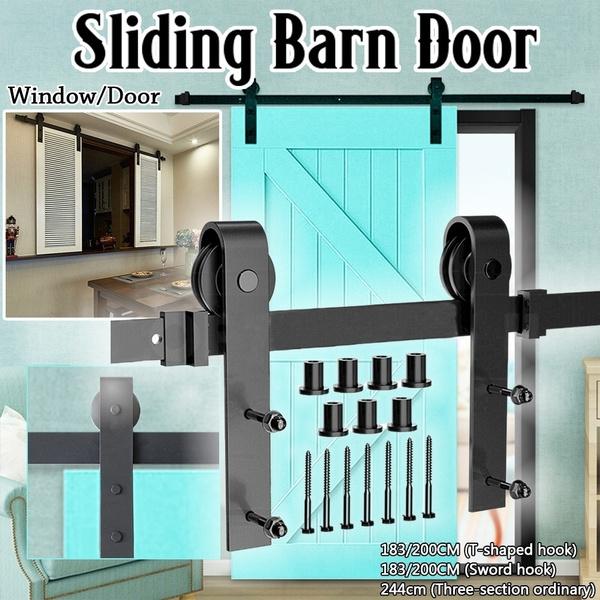 Steel, doorrail, doortrack, slidingrail