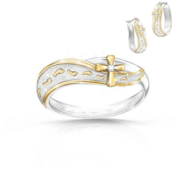 fashionaccessoriesjewelryset, Vintage, crossearring, Jewelry