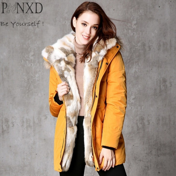 Jacket, Plus Size, fur, Winter