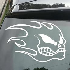 Car Sticker, skullprint, helmetsticker, coolestskullsticker