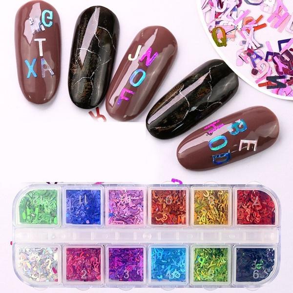 manicure tool, Mini, Holographic, art
