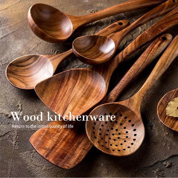 Kitchen & Dining, teakspoon, Wooden, aterproof