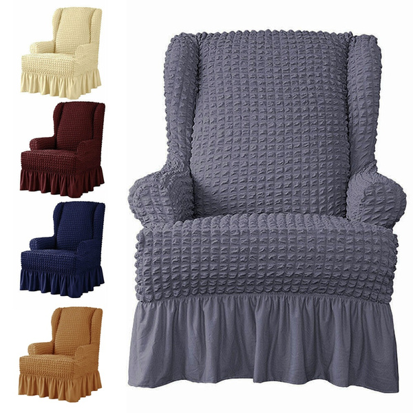 armchaircover, ruffle, Home Decor, sofaprotection