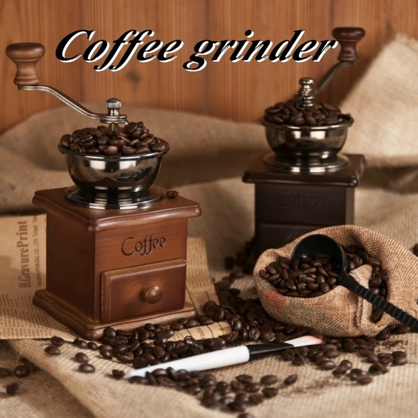 coffeebeangrinder, Coffee, Mini, Wooden