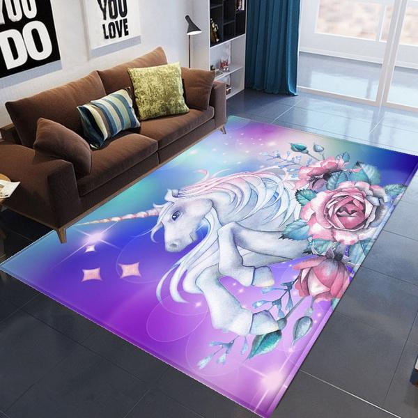 unicorncarpet, Home Decor, unicornprintmat, carpetforlivingroom