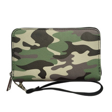 leopardwristletpurse, womencamowallet, Wallet, camouflageprintclutchbag