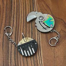 Mini, coinkeychain, folding, portable