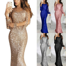 slim dress, Tassels, Fashion, Sleeve