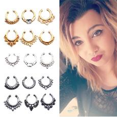 3piecesset, Jewelry, bodyclip, gold jewelry