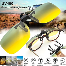 Fashion, UV400 Sunglasses, Clip, antihighbeamlight
