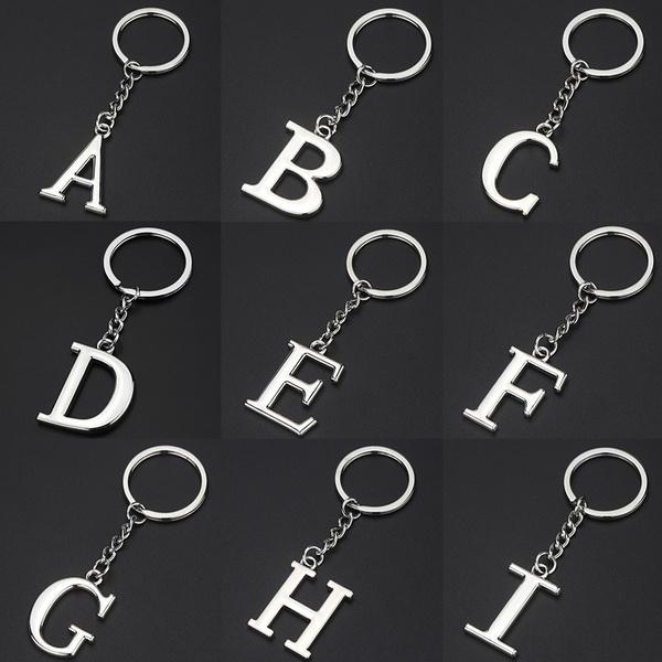 26englishalphabet, Fashion, Key Chain, ringkeyring