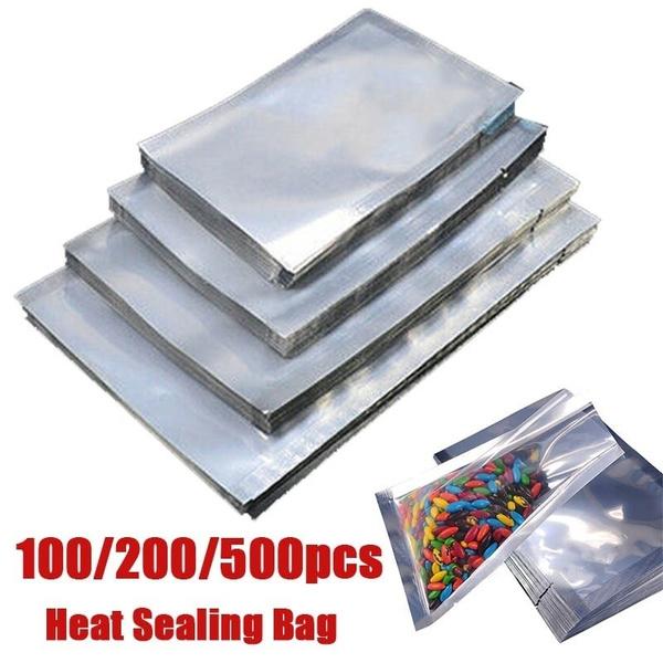 Supplies Silver Storage Pouches Heat Seal Bag Vacuum Sealer Aluminium Foil Bags
