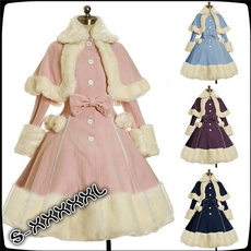 cute, Long Sleeve, Dress, Lolita fashion