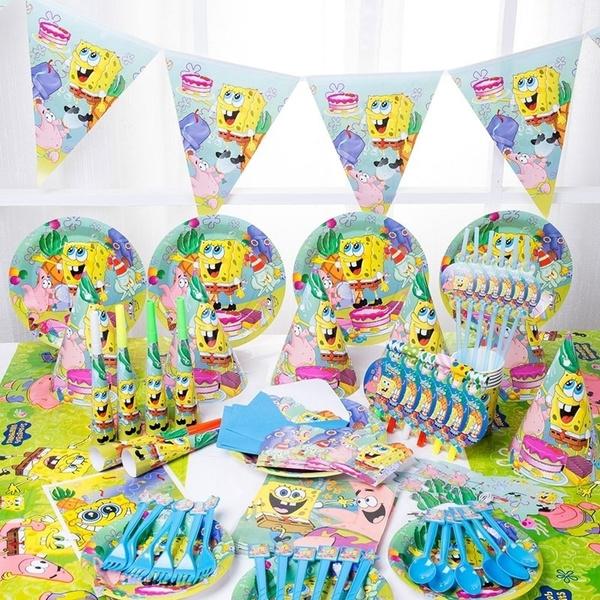 babyshowerpartysupplie, partytool, Sponge Bob, partydecor
