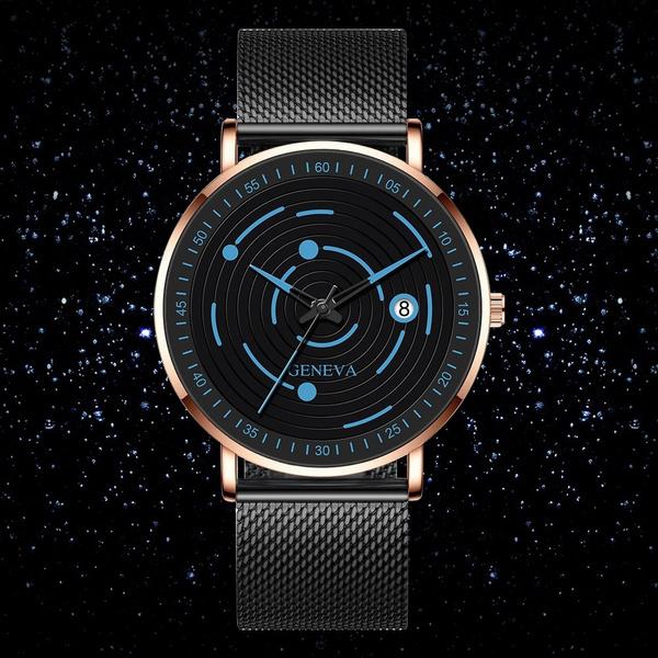 solarsystemwatch, Fashion, Simple, Watch