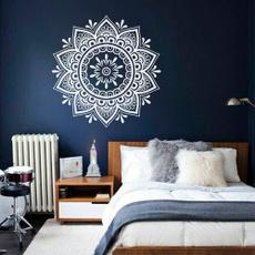 wallstickersampmural, flowerdecal, art, boho