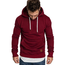 Polyester, hooded, Sleeve, mens tops