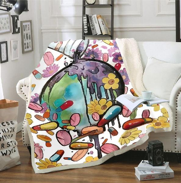 3dprintblanket, Fleece, Fashion, Sofas