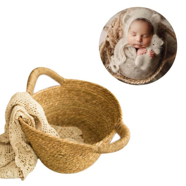 Baby, newbornbasket, Photography, wovenbasket