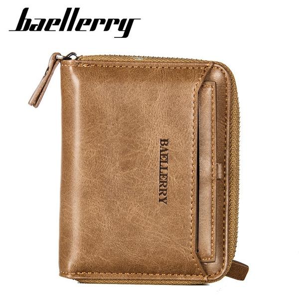 leather wallet, shortwallet, Fashion, card holder