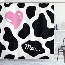 pink, Heart, Bathroom, cow