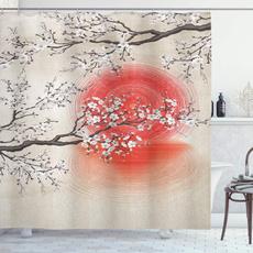 Tree, Bathroom, Japanese, cherryblossom