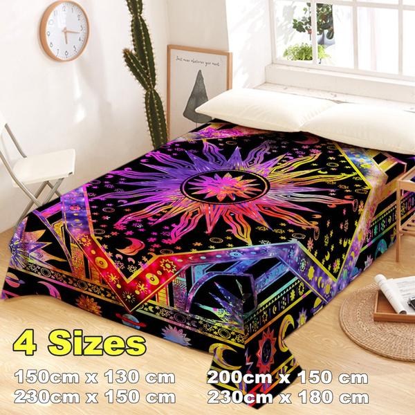 Bed Sheets, blanketstapestry, mandalatapestry, Cloth