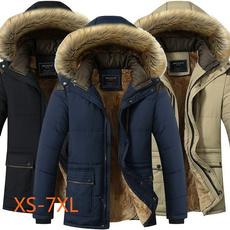 padded, Plus Size, Winter, Coat