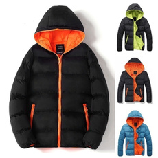 padded, Fashion, hooded, Winter