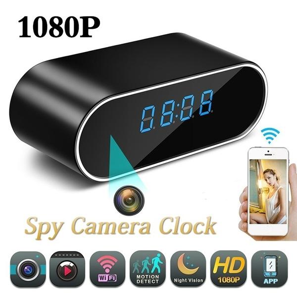 motiondetection, clockcamerawifi, Camera, videorecorder