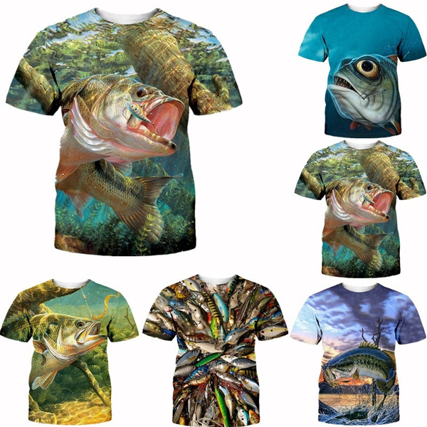 Summer, Outdoor, outdoortshirt, fish