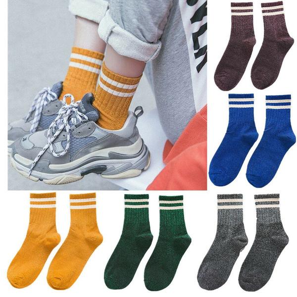 womensock, Cotton, sporty, Socks