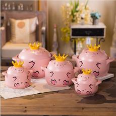 stewpot, hightemperatureresistance, piglet, Pot