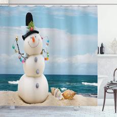 Blues, Bathroom, Winter, Vacation