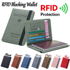 portable, rfidwallet, unisex, Travel