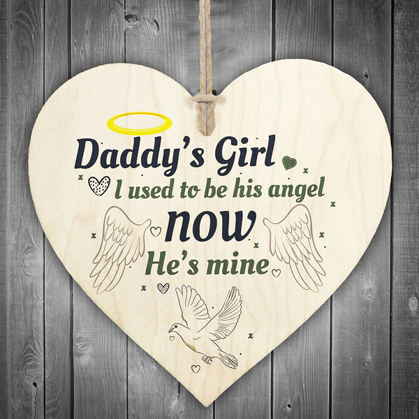 fathersdaygift, plaquesampsign, daughter, Home Decor