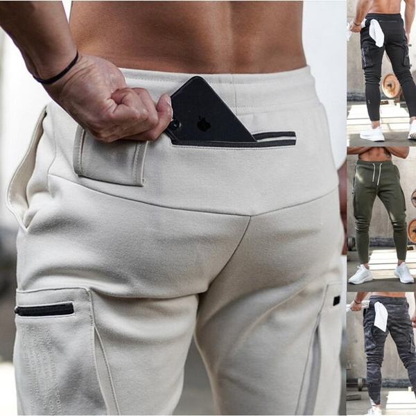 joggingpantsmen, trousers, Elastic, Long pants