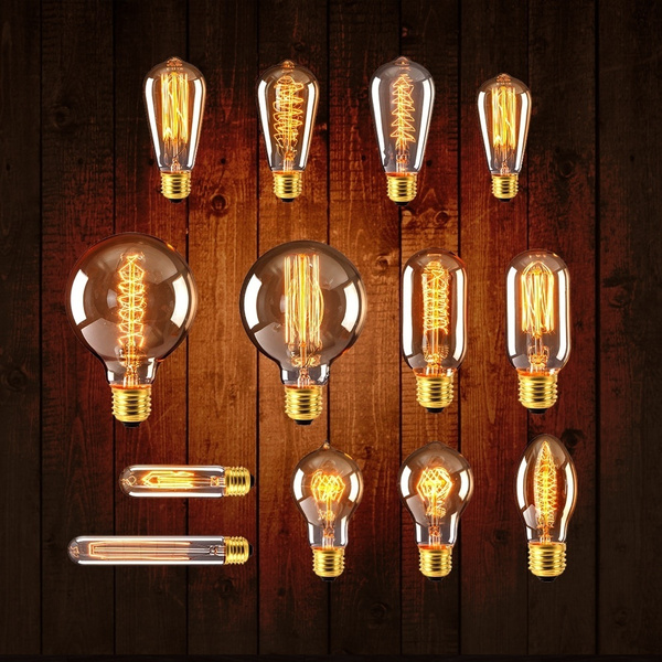 incandescentbulb, Antique, vintagelamp, lights