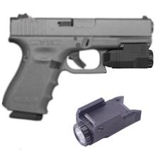 Flashlight, Compact, glock, led
