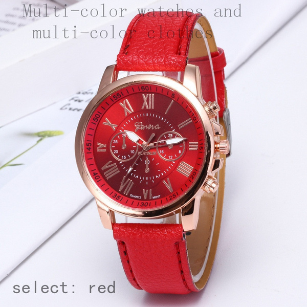 romedigital, Woman, Geneva, quartz watch