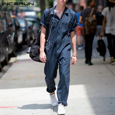Summer, coverall, trousers, pants