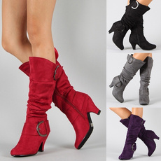 Fashion, Women's Fashion, ridingboot, heelboot