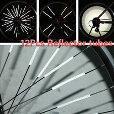 wheelreflective, Bicycle, spokesreflectivetube, Sports & Outdoors