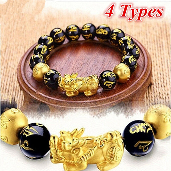 golden, Jewelry, luckybracelet, braceletchinese